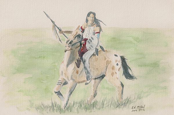 Ed McNeil - Blackfoot Warrior