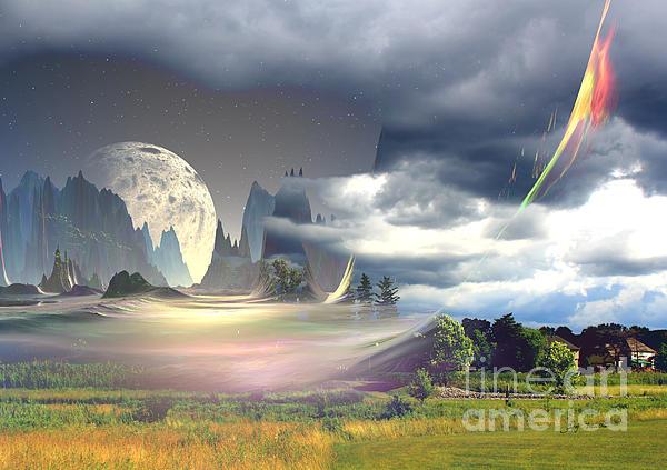 Heinz G Mielke - Blue Moon in my Backyard