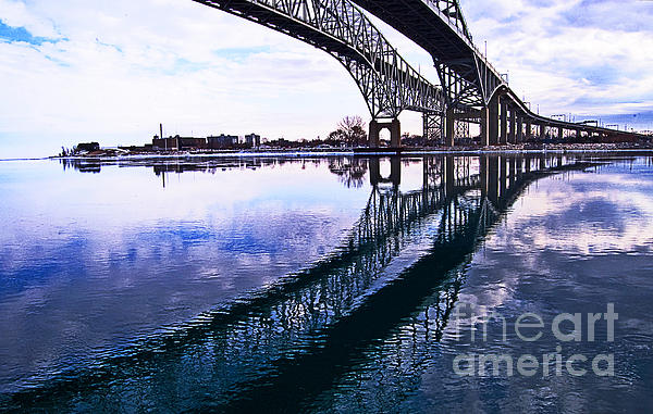Cheryl Cencich - Blue Water Bridges
