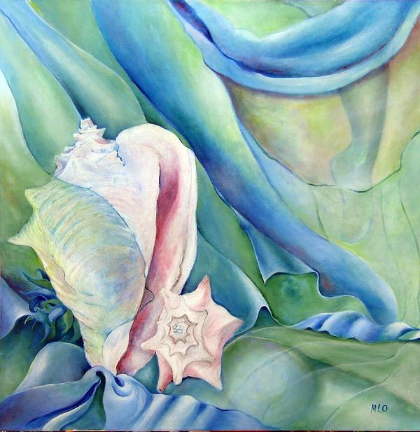 Maria Leon-Ortiz - Body of water