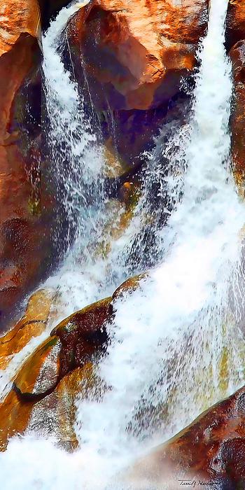 Terril Heilman - Boulder Falls