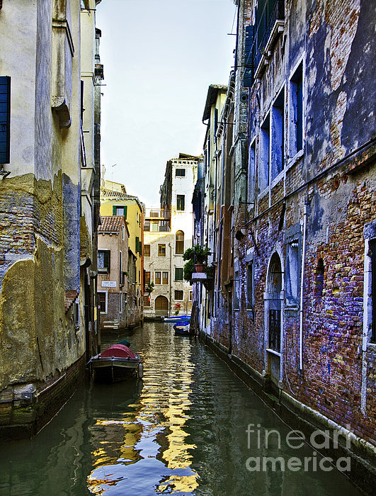 Madeline Ellis - Canal View in Venice 1