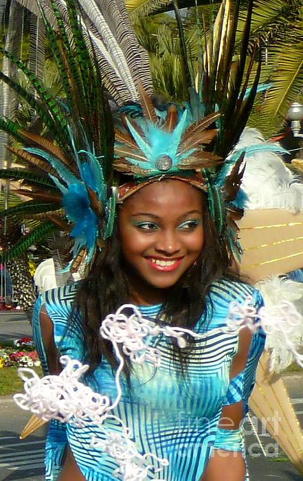 Anna  Duyunova - Carnival Moments. Blue Flower