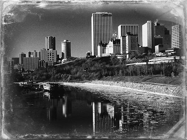 Shirley Sirois - Cityscape of Edmonton