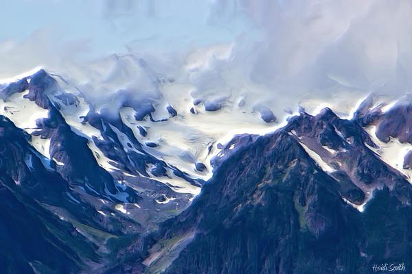 Heidi Smith - Close Up Glacier View