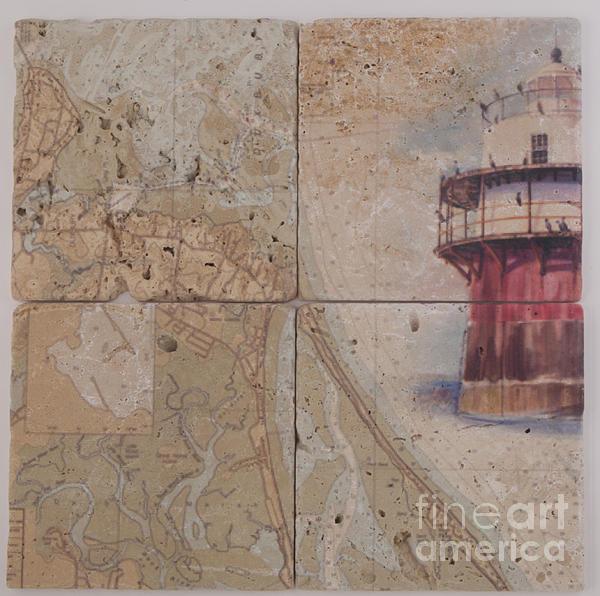 P Anthony Visco - Close-Up Sample On Tile