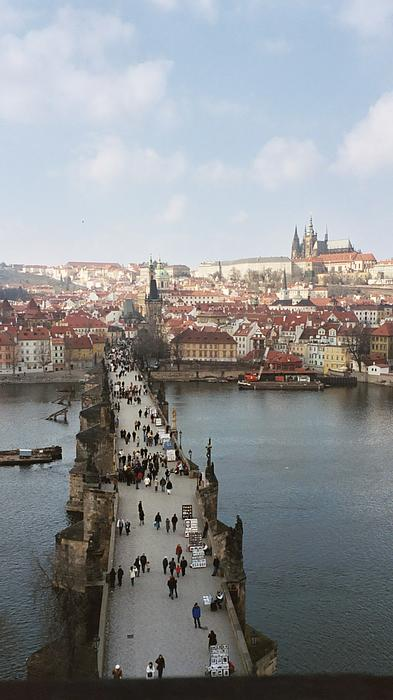 Loud Waterfall Photography Chelsea Sullens - Cold Spring Morning From Charles Bridge Tower
