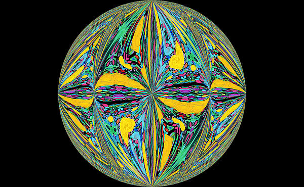 Family Treasures PRIVATE GALLERY - Colorific Sphere