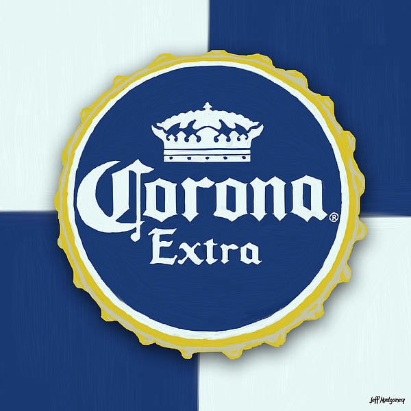 Corona Bottle Cap Tote Bag for Sale by Jeff Montgomery