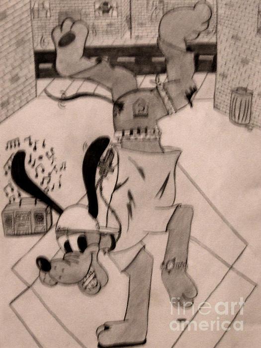 Scott B Bennett - Disney Break dance Goofy