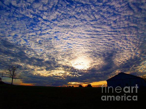 Vilas Malankar - Dramatic sunset