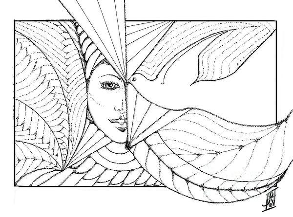 Rosy Hall - Elemental 1 drawing