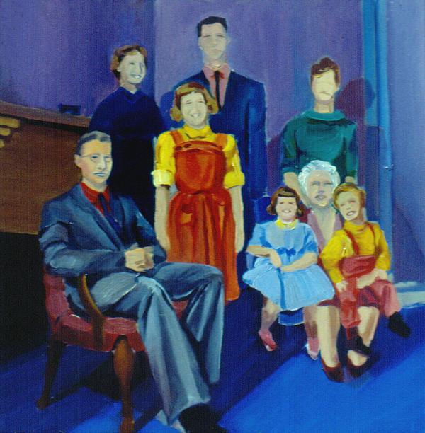 Nancy Griswold - Family Portrait painted 1977