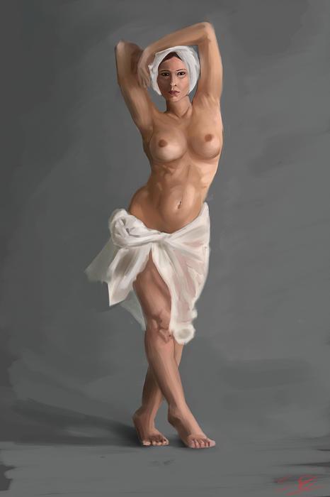 Stephen Hawkes - Female Nude