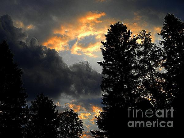 Elfriede Fulda - Fiery Sky