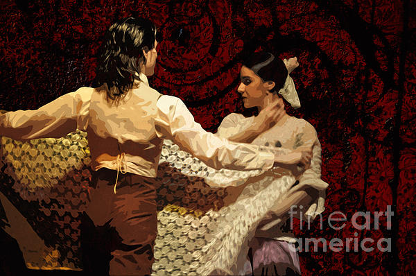 Mary Machare - Flamenco Series No 3