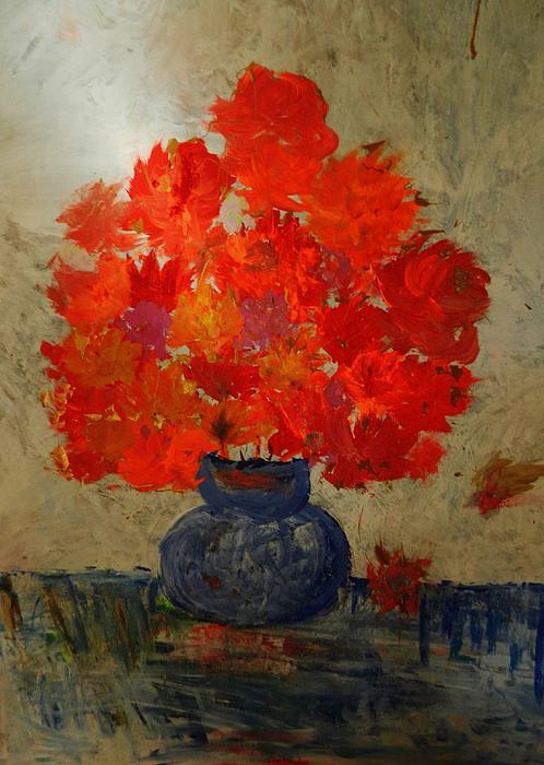 Marina R Raimondo - Flowers in the Vase