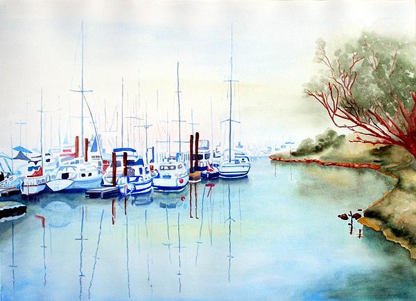 Gerald Carpenter - Foggy Day at Moss Landing
