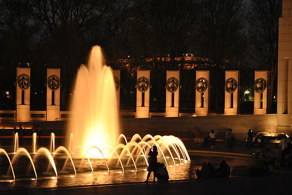 Jacob Wycoff - Fountain at Night