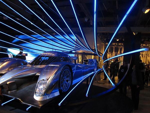 Robin Ziegelbaum - French Car Showroom