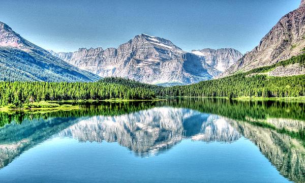 Eileen Brabender - Glacier Park Reflection