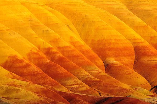 Hegde Photos - Golden Sunset at Painted Hills