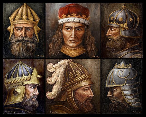 Arturas Slapsys - Grand Dukes of Lithuania