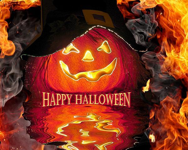 Rick Friedle - Halloween Pumpkin