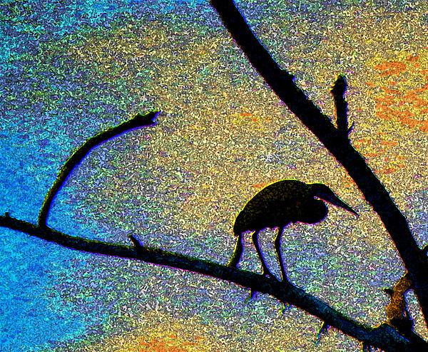 Debbie Edwards - Heron at Twilight