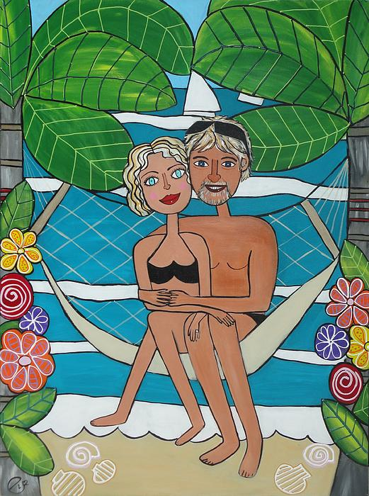 Elizabeth Langreiter - Honeymoon on Phi Phi