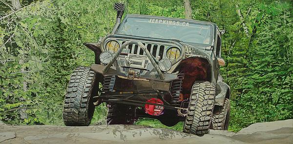 Jeff Taylor - Jeep on the Rocks