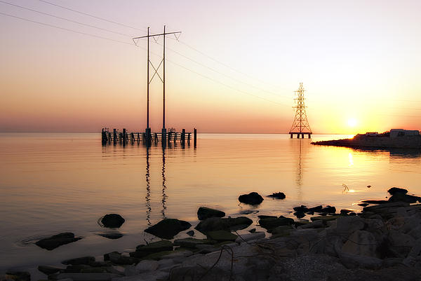Kathleen K Parker - Lake at Dawn New Orleans
