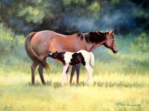 Kay Moss Heavener - Little Paint I