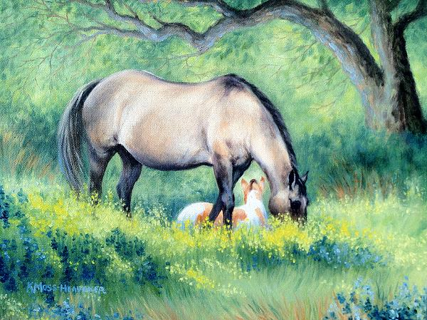 Kay Moss Heavener - Little Paint II