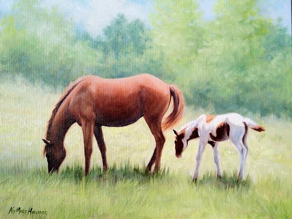 Kay Moss Heavener - Little Paint III