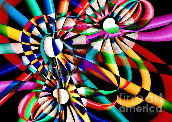 Cheryl Davis - Love Of Color Abstract