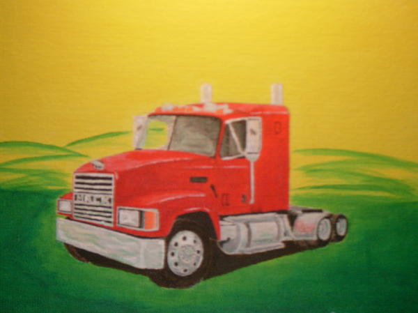 Mary Vincent - Mack Truck