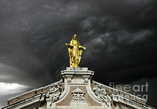 Mike Nellums - Mary and the Storm Assisi Italy
