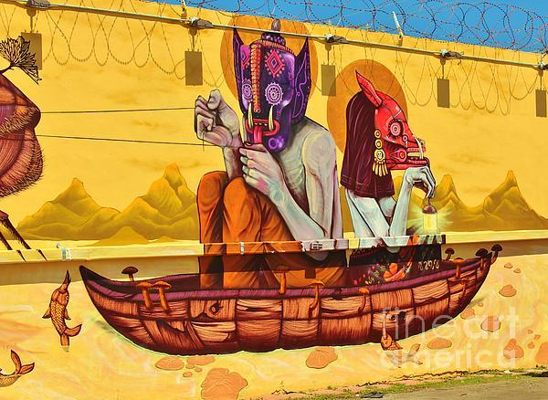 Rene Triay Photography - Mayan Boat--Wynwood