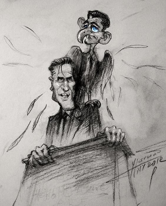 Ylli Haruni - Mitt Romney and his Flying Mate