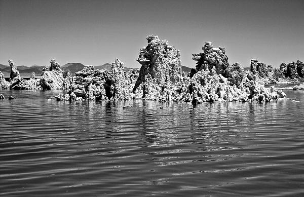 Eric Tressler - Mono Lake Tufa Reflected