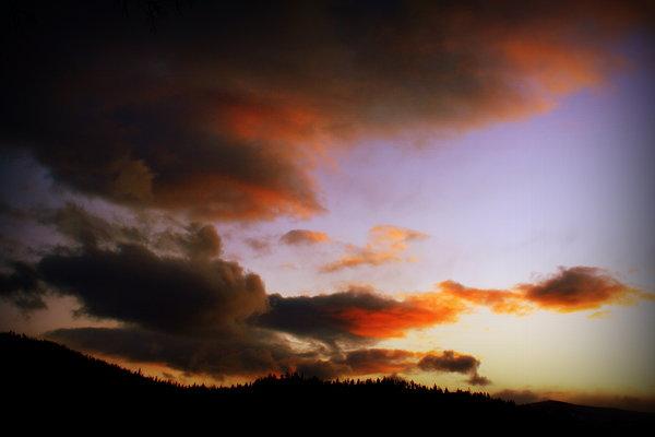Douglas Wilks - Montana Sky at Sunset
