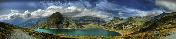Ettore Zani - Montespluga Lake