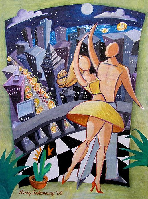 Nancy Salamouny - Moonlight dance