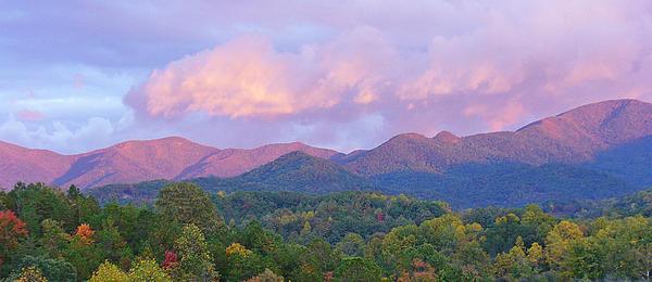 Patricia Adams - Mountain Sunset