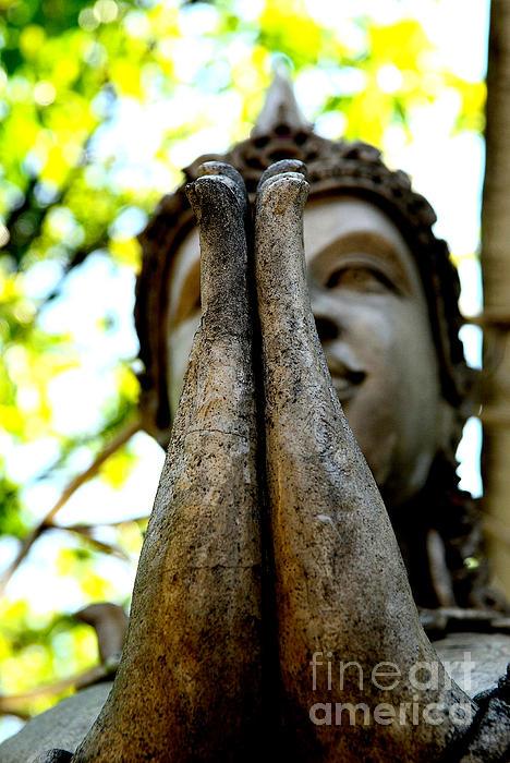 Dean Harte - Namaste Mudra Buddha I - Colour version