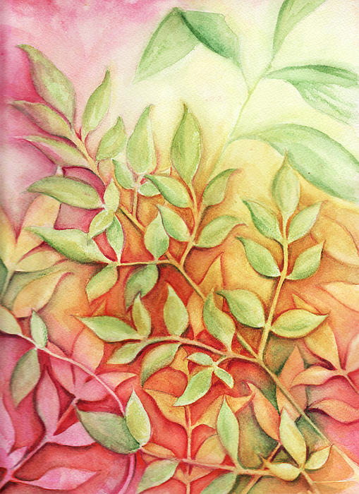Carla Parris - Nandina Leaves