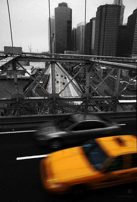 Hannes Cmarits - NYC Yellow Cab
