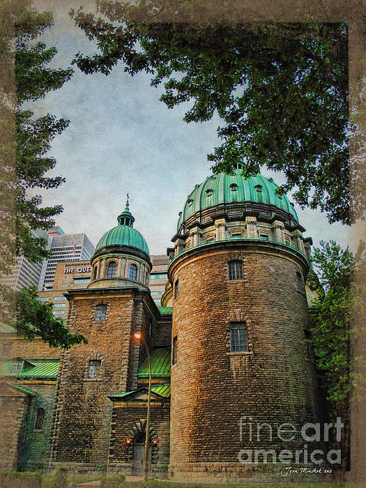 Joan  Minchak - Old Montreal Church