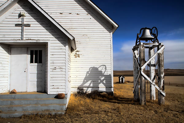 Edward R Wisell - Old Prairie Church and Things